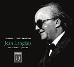 The Complete Organ Works of Jean Langalais, Volume 13, CDs 25&26